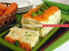Receita de Bolo 4 queijos com brócolis