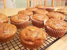 Apple & Pumpkin Muffins - healthy & delicious!