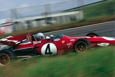 Mario Andretti, Ferrari 312B - Ferrari F12 (Netherlands 1971)