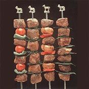 There's something so fun about kebabs, especially when they're loaded with lamb.