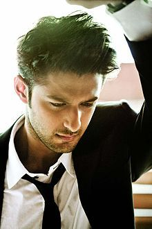 Indian actor Vatsal Sheth  click on to read about him on wikipedia