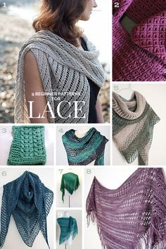 9 Top-Rated Lace-Knitting Projects for Beginners Posted on May 6, 2015 by Liat Gat - Knit Freedom with Liat