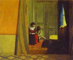 Felix Vallotton (1865 - 1925) Son influence fut considérable. La parenté avec Hopper est évidente...