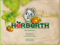 Spezialkelterei Herberth, Im Kronthal 12-16, 61476 Kronberg im Taunus, Apfelweinkelterei, Natursäfte, Apfelweingarten, Getränkehandel. info@herberth.de, www.herberth.de