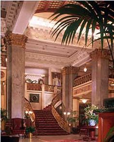 the seelbach hilton louisville ky--Beautiful. This is where I stayed on my honeymoon.