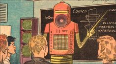 Roboteach, vintage 50's illustration