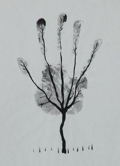 Handprint tree