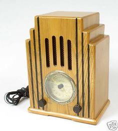 Art Decó radio