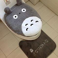 My Neighbor Totoro Toilet Lid Toilet Seat Cover And Rug S... https://www.amazon.com/dp/B019C25Y7K/ref=cm_sw_r_pi_dp_QoQMxbGMH01F4