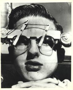 1940-1950- Windshield Wiper Eyewear LOL! Follow us on FaceBook @ www.facebook.com/eyecarefortcollins or @ www.eyecarefortcollins.com