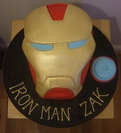 Iron Man Cake Decorating Kit