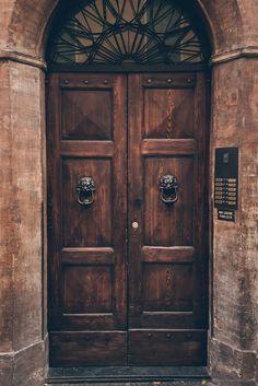 Door In Parma Italy