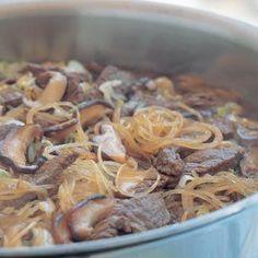 Beef Sukiyaki with Noodles