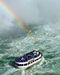 Maid of the Mist, a great trip at Niagra Falls