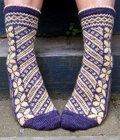 Gorgeous sock pattern