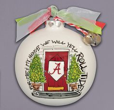 Alabama My House Ornament