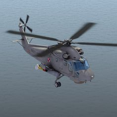 Polish Seasprite Model available on Turbo Squid, the world's leading provider of digital models for visualization, films, television, and games. Military Helicopter, Air Force, Fighter Jets, Aircraft, Universe, Polish, Tech, Birds, 3d