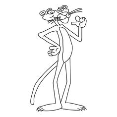 The-Pink-Panther-Coloring-Pages.gif (1654×1654)
