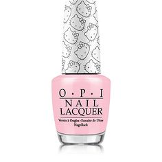 OPI Hello Kitty Nail Lacquer Collection Small + Cute = Love (baby pink)