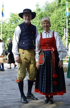 Folk Costume, Costumes, Ethnic Dress, Daily Dress, My Heritage, Traditional Outfits, Sweden, Scandinavian, Have Fun