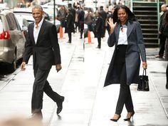 Obamas - Power Dressing Duo