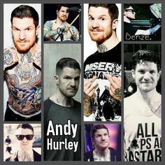 Andy Hurley Appreciation <3