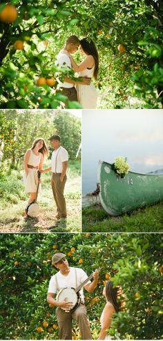 Beautiful Florida Engagement shoot in the Orange Groves. Wedding Stuff, Dream Wedding, Wedding Ideas, Engagement Pictures, Engagement Shoots, Couple Photography, Wedding Photography, Orange Grove, Family Photos
