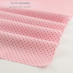[Visit to Buy] New arrivals light pink mini dot 50cmx160cm/piece 100% cotton fabric tilda for baby home textile sewing  quilting patchwork   #Advertisement