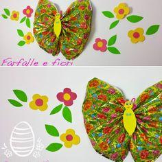 Da uovo a farfalla: come riciclare la carta delle uova di Pasqua