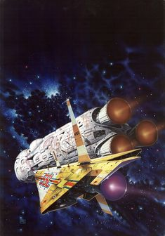 Art by Peter Elson - Trader to the Stars