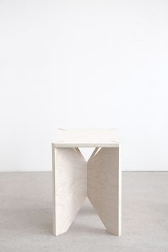 Plywood side table/seat by Amee Allsop