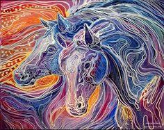 Bila gambar bersuara: Batik painting yang berwarna warni.