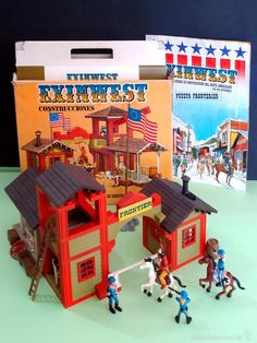 Exin West - ExinWest - Lote PUESTO FRONTERIZO - Piezas Castillos Clásico. - Foto… Wild West Cowboys, Nostalgia, Amazing Toys, All Toys, Le Far West, Back In Time, Toy Soldiers, Vintage Toys, Nerf