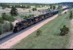 RailPictures.Net Photo: DRGW 5381 Denver & Rio Grande Western Railroad EMD SD40T-2 at Colorado Springs, Colorado by Greg Mross