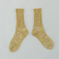 Linen Cotton Mix Socks: NEW!