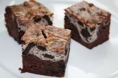 Veganeren: Oreo chocolate cream cheese brownies