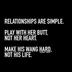 make his wang hard.