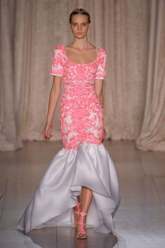 Marchesa's runway shows during New York Fashion Week always draw some of the biggest start to the front row, and this year, the label took the spectacle to new heights by staging its spring r…