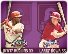 Jimmy Rollins and Larry Bowa