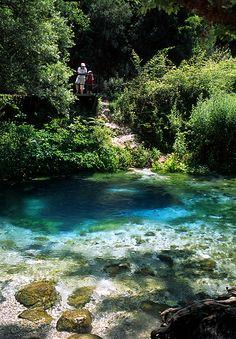Blue Eye Spring, Saranda, Albania