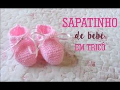 SAPATINHO DE BEBÊ SUPER FÁCIL | TRICÔ