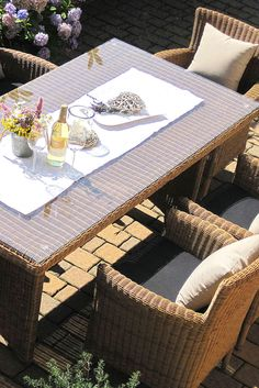 Perfect Fantastische Gartenm bel mit Platz f r Personen gartengarnituren Gartengarnituren Pinterest