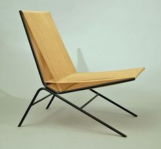 allan gould / iron and twine chair