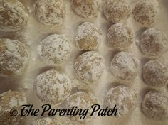 Baking Pecan Snowball Cookies (Day 20 of 25 Days of Christmas)   Parenting Patch