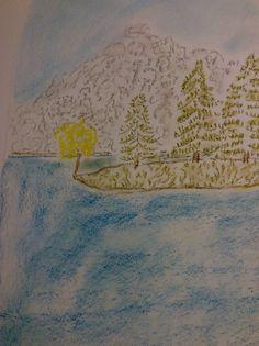 Berge und Wasser