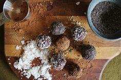 This Rawsome Vegan Life: walnut bliss balls with chia, coconut + carob