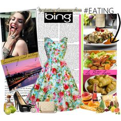 """""""Tastemakers with the Bing Summer of Doing"""" by deannagotswag on Polyvore"""