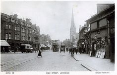 Lewisham High Street, Early 20th century | Shops on the right are where the soon yo be closed Ladywell leisure centre is