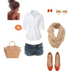 A Touch of Mandarin, created by omfisher.polyvore.com