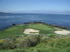 par 3, 7th hole at Pebble Beach